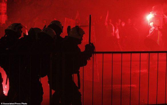 Polish riot