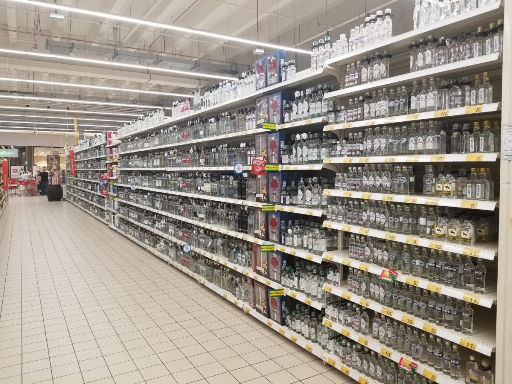 polish vodka supermarket