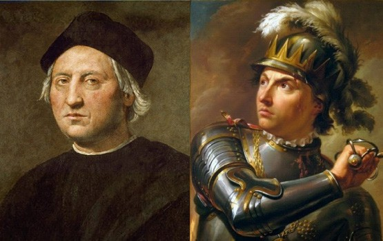 Christopher Columbus and Wladyslaw III