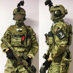 Polish Grom uniform