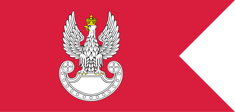 flag of the polish land forces
