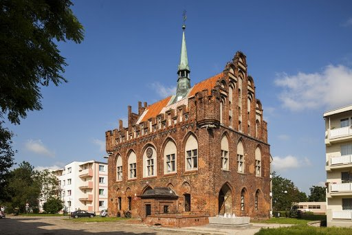 malbork city office and town hall